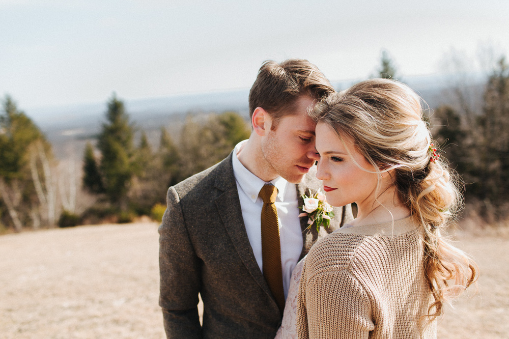 Camp wedding on the mountaintop at Cedar Lakes Estate with Heart & Dash and The More We See