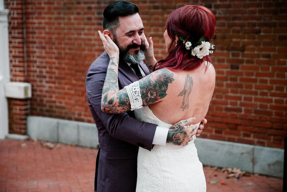 Philadelphia wedding in Old City with We Laugh We Love and Philadelphia Wedding Planner Heart & Dash
