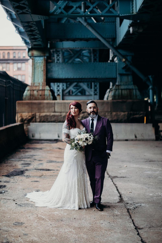 Industrial Philadelphia wedding at Power Plant with Philadelphia wedding planner Heart & Dash