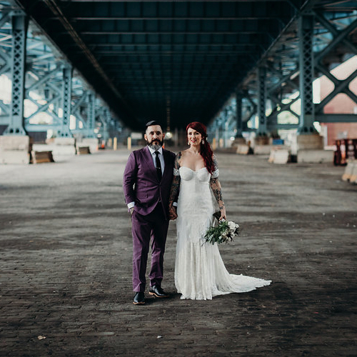 Ashley & Drew's Power Plant Wedding with a Family Focus