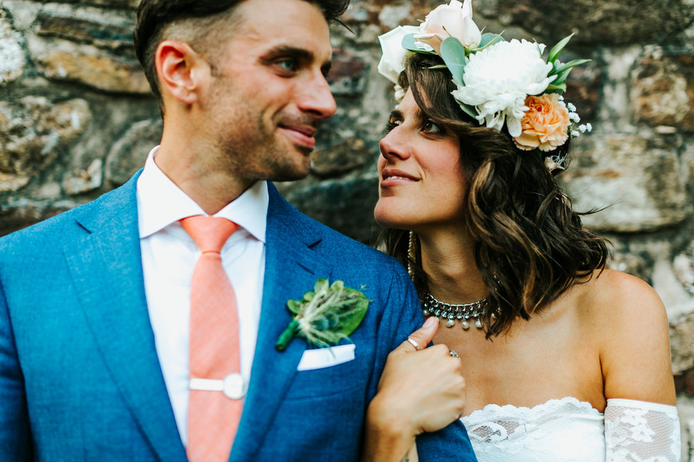 Historic Yellow Springs Wedding with DIY Details and Boho Vibe with Wedding Coordination by Heart & Dash Images by Danfredo