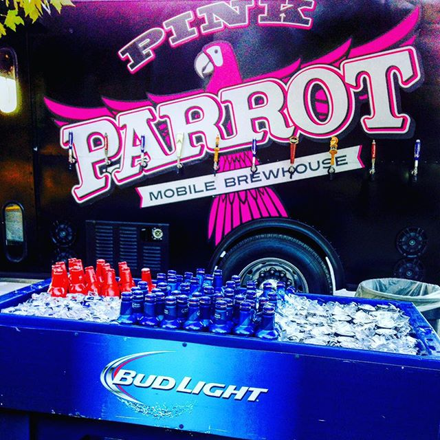 Join us at the #PeaceLove&Goodwill Festival tonight at the Myriad Gardens in OKC! We will be parked selling beer until 9pm! Located on #FoodTruck Row! ✌🏻️❤️ $4 Aluminum & $6 COOP - come & see us! @pinkparrotokc #pinkparrotokc