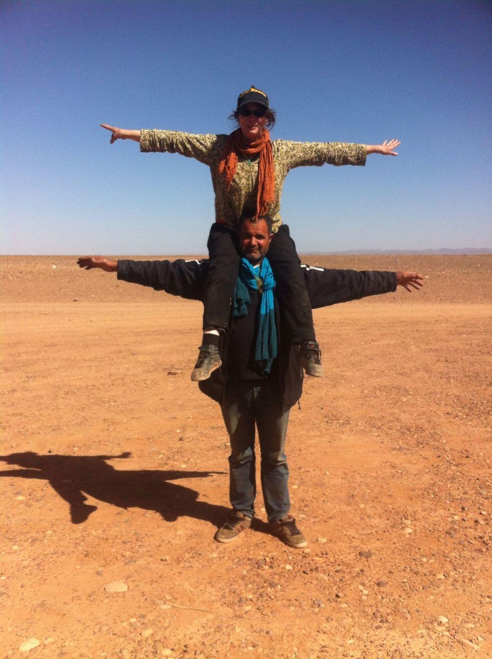 Avec Laroui, le groupman, aussi costaud que son camion