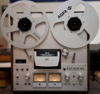 For those too young to remember, this is what a reel to reel player looks like.