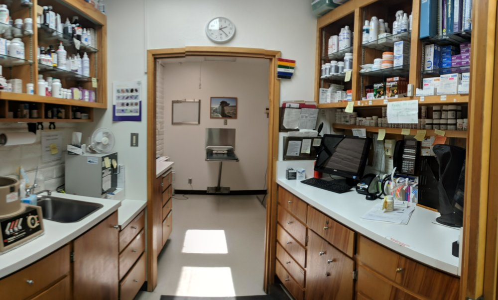 Pharmacy and Laboratory