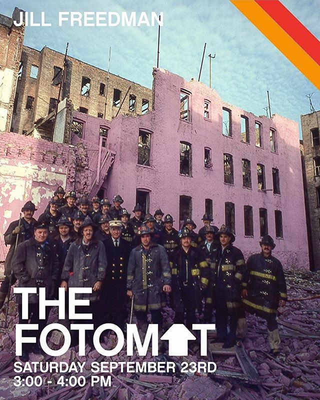 "TODAY AT THE FOTOMAT!!! @jillfreedmanphoto will be signing her special edition print from 3-4... The cover of her book from 1977, ""Firehouse""... be ready for fun!!! Only 20 available!!! GET'EM WHILE THEY ARE HOT!!! #thefotomatny #nyabf"