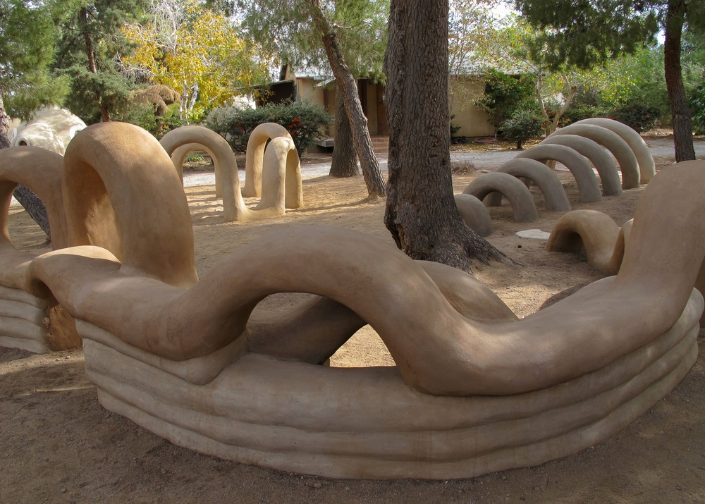 Superadobe Sculptures