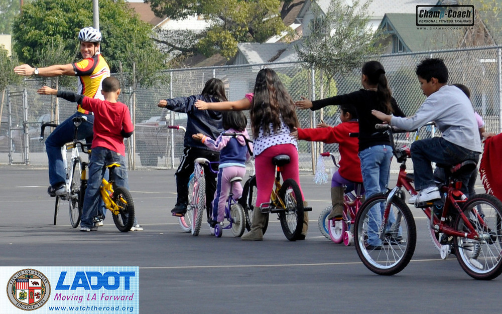 Public Speaker for Bicycle Safety Presentation for Los   Angeles Schools - (LADOT)