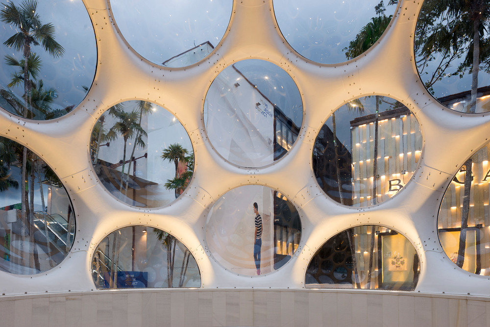 """inside"" of the Fly's Dome. Miami Design District - 02/2015 - copyrights - Christian Klugmann"