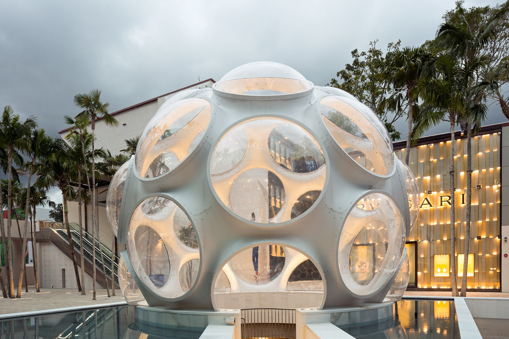 Fly's Dome. Miami Design District - 02/2015 - copyrights - Christian Klugmann