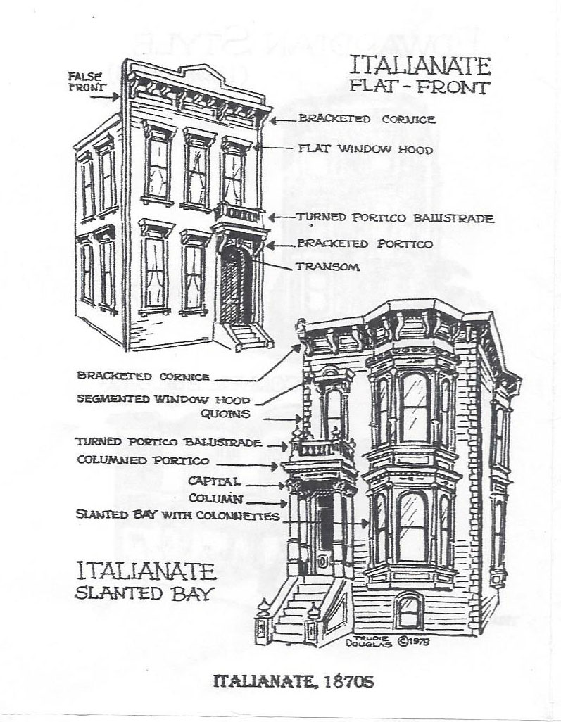 Italianate victorian house plans - Italianate Victorian House Plans 23