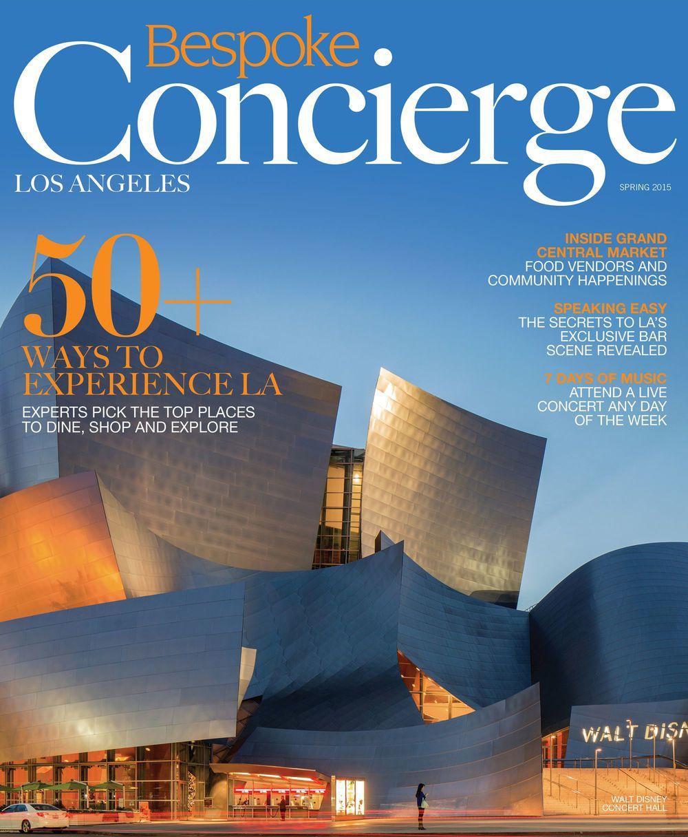 Cover -Concierge | Los Angeles | Spring 2015
