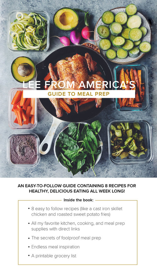 Lee from americas guide to meal prep lee from america lee from americas guide to meal prep forumfinder Choice Image