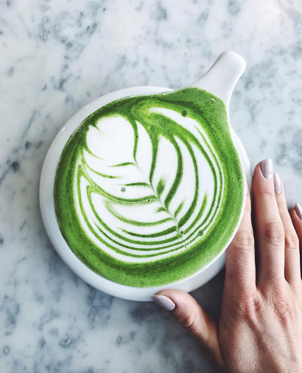 THE best matcha in town, at Eightfold coffee