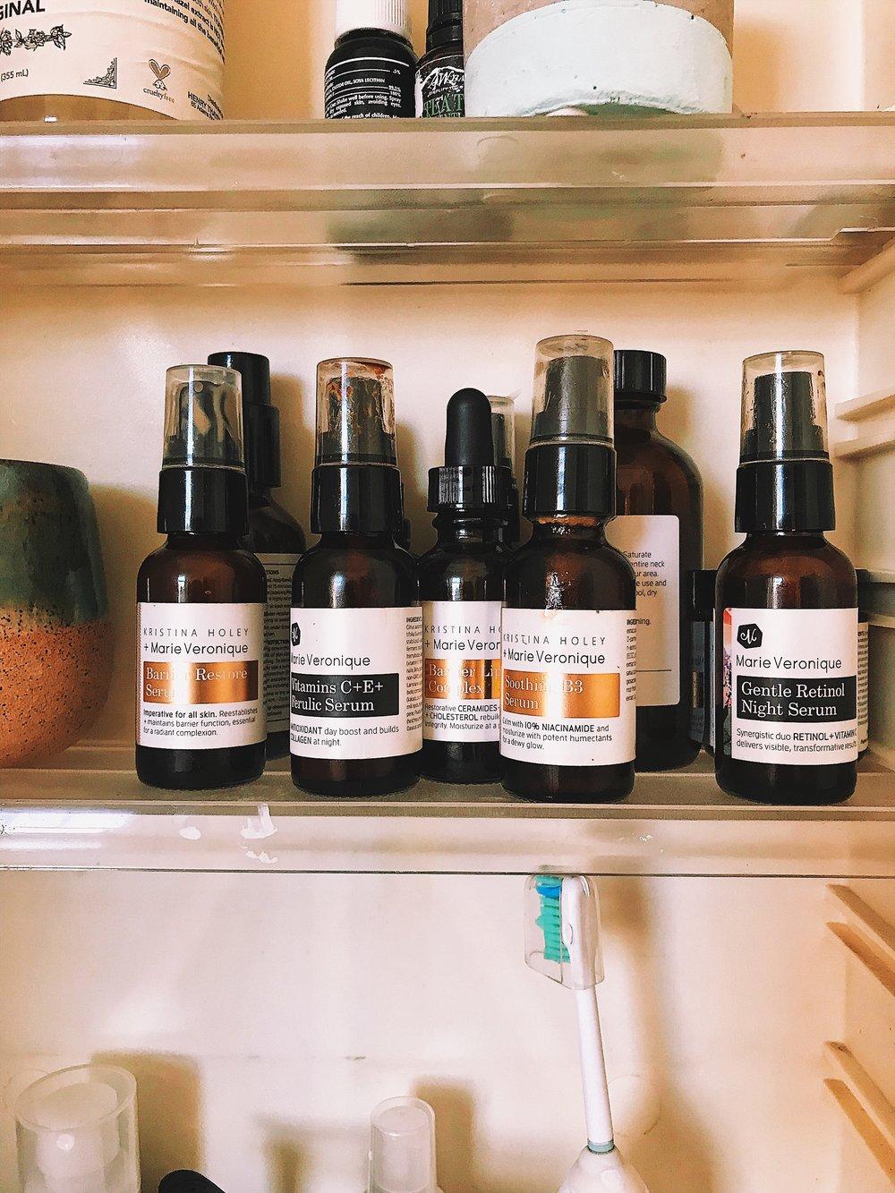 My holy MV shelf.