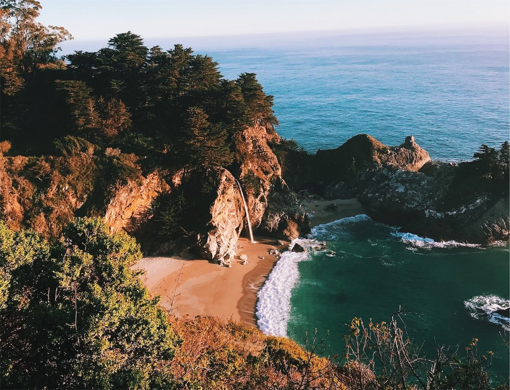 "Big Sur: one of those places that makes you go, ""Dang, life is beautiful"""