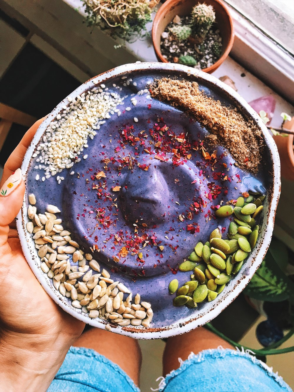 My seed cycling smoothie bowl :)