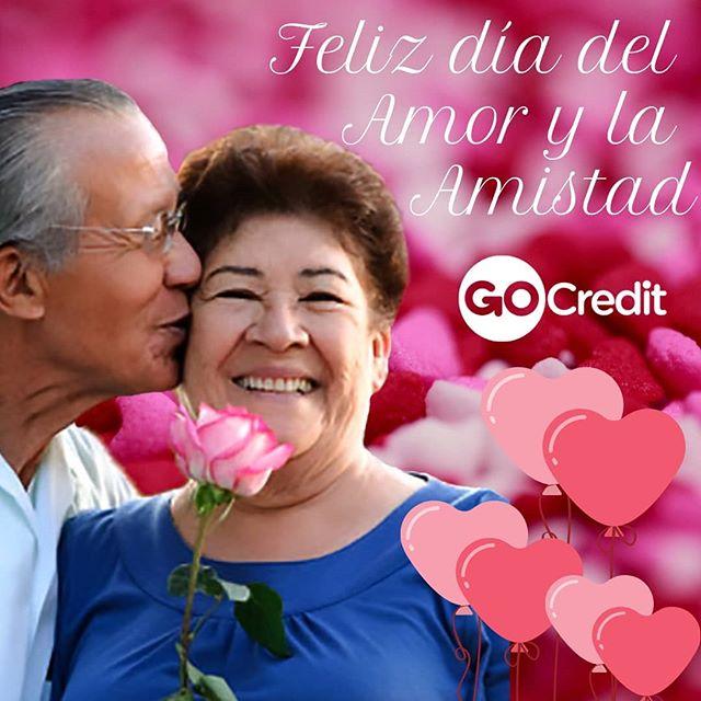 Feliz día del Amor y la Amistad❤ les desea #GoCredit 😍
