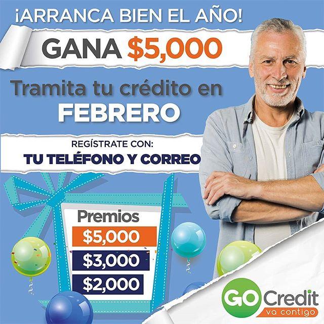 Participa en nuestro Sorteo y gana dinero en efectivo💵 #GoCredit #vacontigo Consulta las bases en www.gocredit.mx/sorteo-gocredit ... #jubiladosypensionados #gobierno #imss #issste #issstecali #isesalud #pemex #dinero #dinerorápido