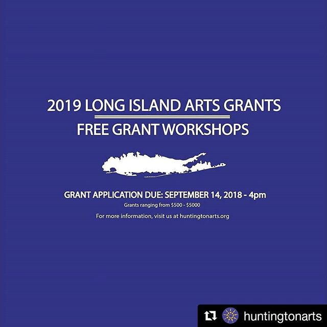 #Regram @huntingtonarts @nyscouncilonthearts decentralization grant info is posted. Attend a workshop soon. ・・・ #HAC presents 2019 Long Island Grants for the Arts Mandatory Workshops at various locations on 5/31, 6/4, 6/5, 6/7. 6/12, 6/18, 6/19, 6/21, and 6/28. Attendance at these workshops is required prior to applying for a Decentralization Grant. For more information and to register, visit the link in bio. . . . #huntingtonarts #MainStreetGallery # NYSCA #grantsforthearts #artgrants #newyorkartists #longislandartists #longislandpainters #longislandphotographers #suffolkcounty #nassaucounty #newyorkstatecouncilonthearts #nyartgrants #musicians #performers #communityart #artisticcommunities #nonprofits #nygrants