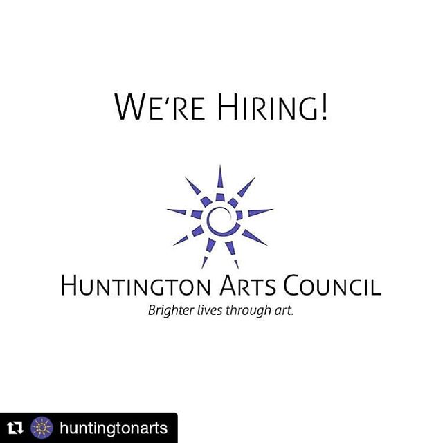 #Repost @huntingtonarts My job is still hiring for a director of development. ・・・ Huntington Arts Council is looking for a full-time Development Director. For details, go to huntingtonarts.org/contact/careers/. . . . #huntingtonarts #hac #artjobs #jobsinthearts #developmentdirector #longislandartist #longislandart