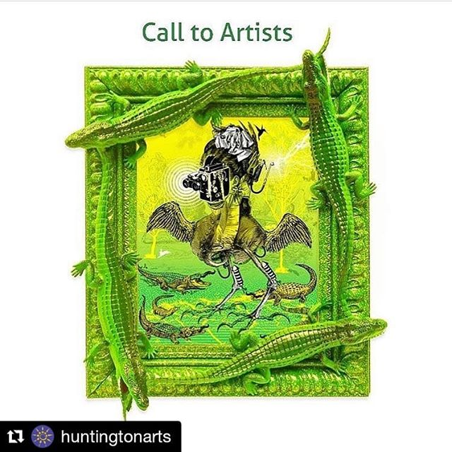 "#Repost @huntingtonarts ・・・ Last chance! Submit your work by Feb. 25 to ""Bright Colors, Bold Strokes: Creations of Lowbrow Art"" with juror Benjamin Owens (""Crocodile Tears"" image featured). Lowbrow started as an underground visual art movement that arose in the Los Angeles, Calif., area in the late 1970s. It is a populist art movement with its cultural roots in underground comix, punk music, tiki culture, and hot-rod cultures of the street. It is also often known by the name pop surrealism and has a sense of humor. HAC invites you to be influenced by many of the creators of lowbrow, acid house flyers, advertising, animated cartoons, circus and sideshow culture, street art, kitsch, psychedelic art, retro Illustration, pulp magazine art, among many other things. Owens has worked on a variety of interdisciplinary projects. He has been featured in JUXTAPOZ. He is also an established illustrator having done work for ZOO YORK Skateboards, Blue Point Brewery, and others. Owens is currently employed as an advertising marketing VP. His work can be seen at Muneca Art House in Patchogue, and his solo exhibition opens April 2019. Learn more about the call at the link in bio. . . . #huntingtonarts #hac #artopening #longislandartists #newyorkart #huntingtonny #longislandart #ilovelongisland #suffolkcounty #kitschart #kustomkulture #exploreliny #madeonlongisland #longislandfeatures #longislandculture #artsandculture #lowbrow #suffolkcountyny #popart #longislandlife #longislandevents #Juxtapose #tiki #longislandphotographer"