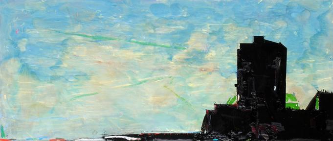 Conversion, 2008, 36 x 84 inches, Private Collection