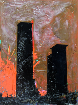 Understanding how to attain glory, 2008, 48 x 36 inches