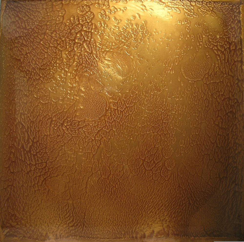 Spacetime, 2005, 48 x 48 inches Private Collection