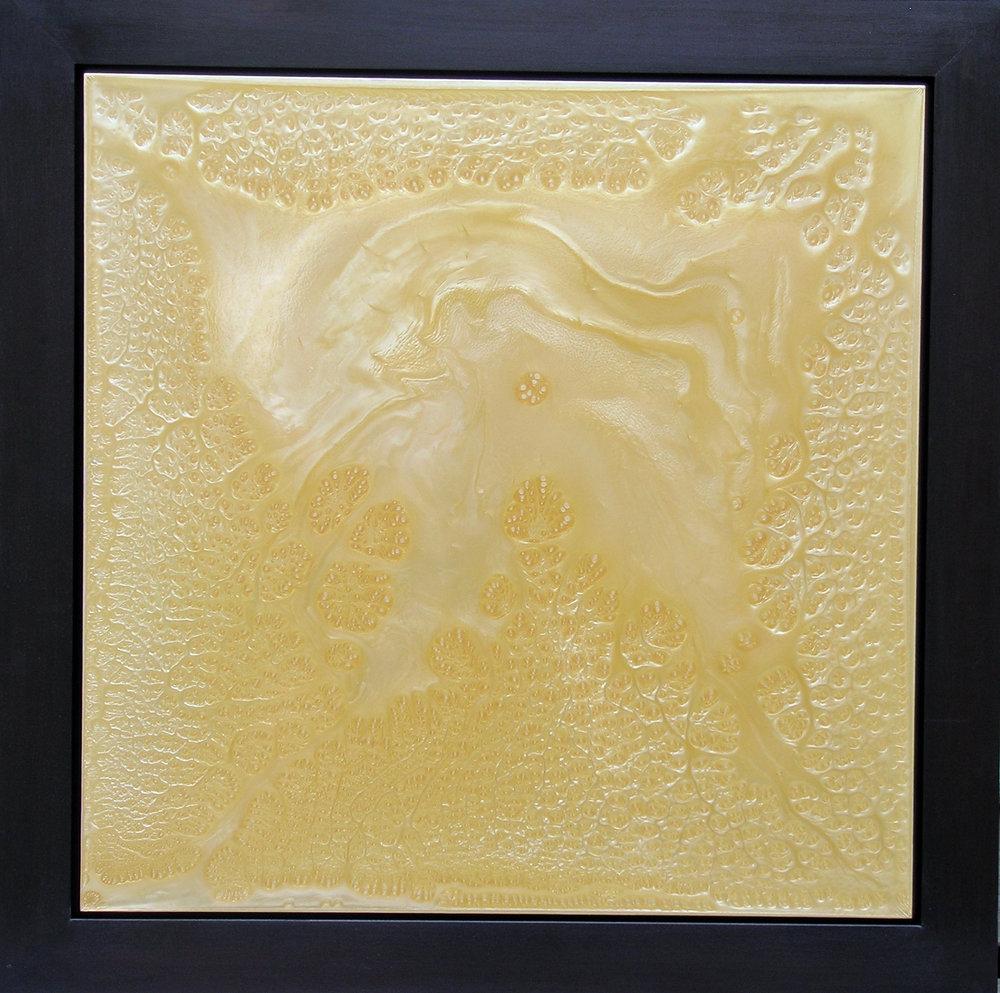 Materia Prima Blueprint 19, 2005, 30 x 30 inche