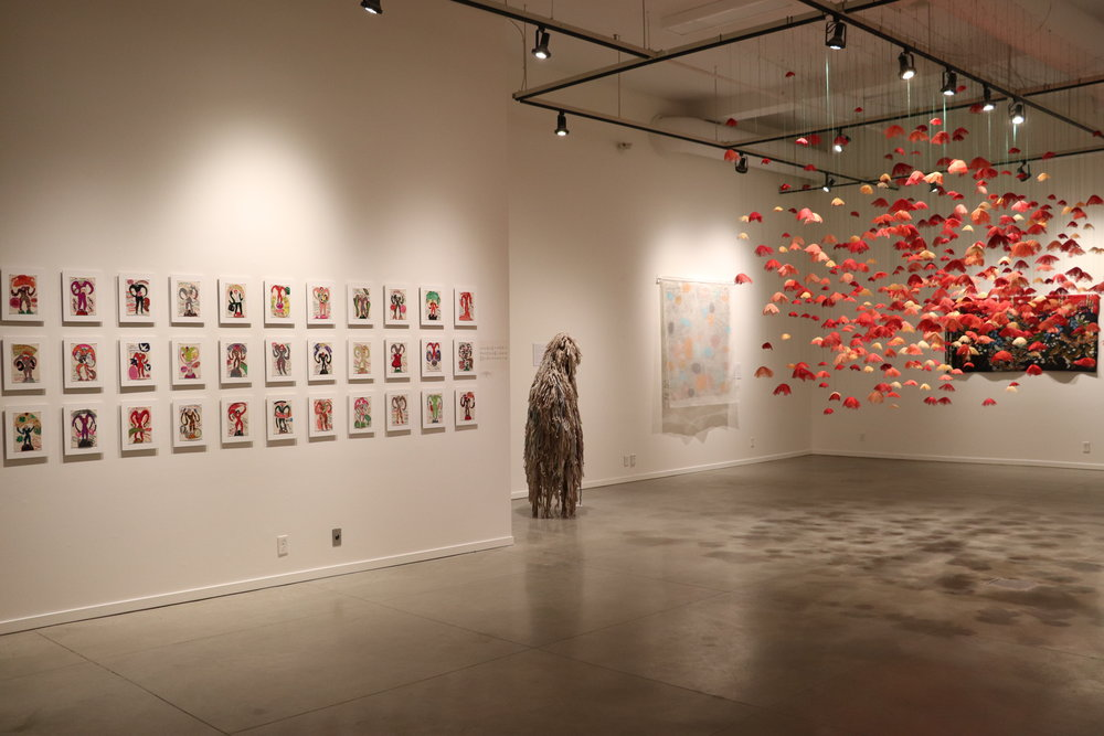 Installation View at Touchstone Museum of Art