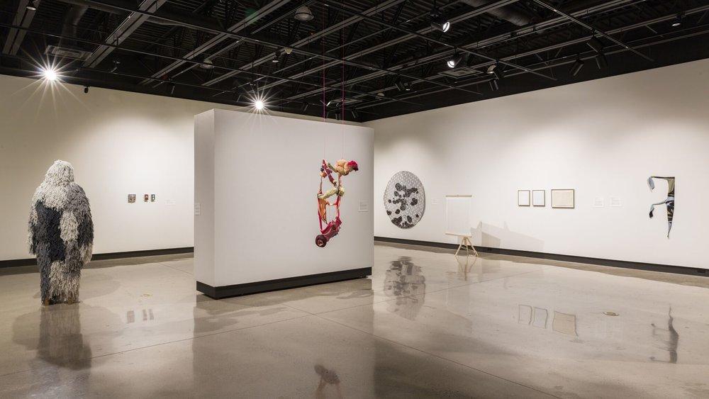 Installation at Idea Exchange, Cambridge Art Galleries, 2016