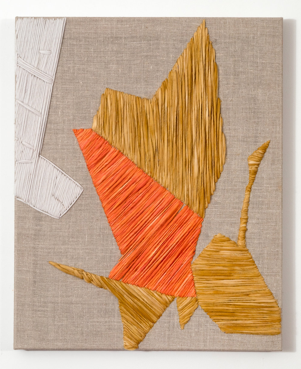 System 11 2017 Wool and Linen on Wood Stretcher 30 x 24 inches