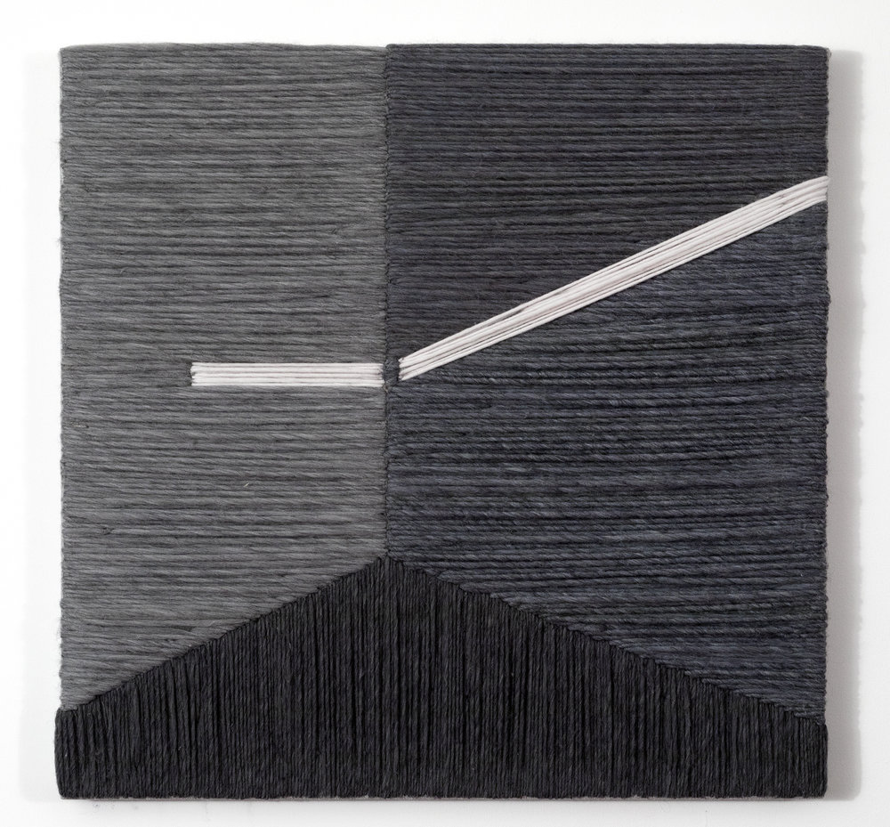 Pattern 34 2017 Wool and Linen 30 x 30 inches