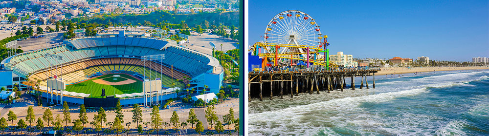 "Run the ""Stadium to the Sea"" Course, from Dodger Stadium to the Santa Monica Pier!"