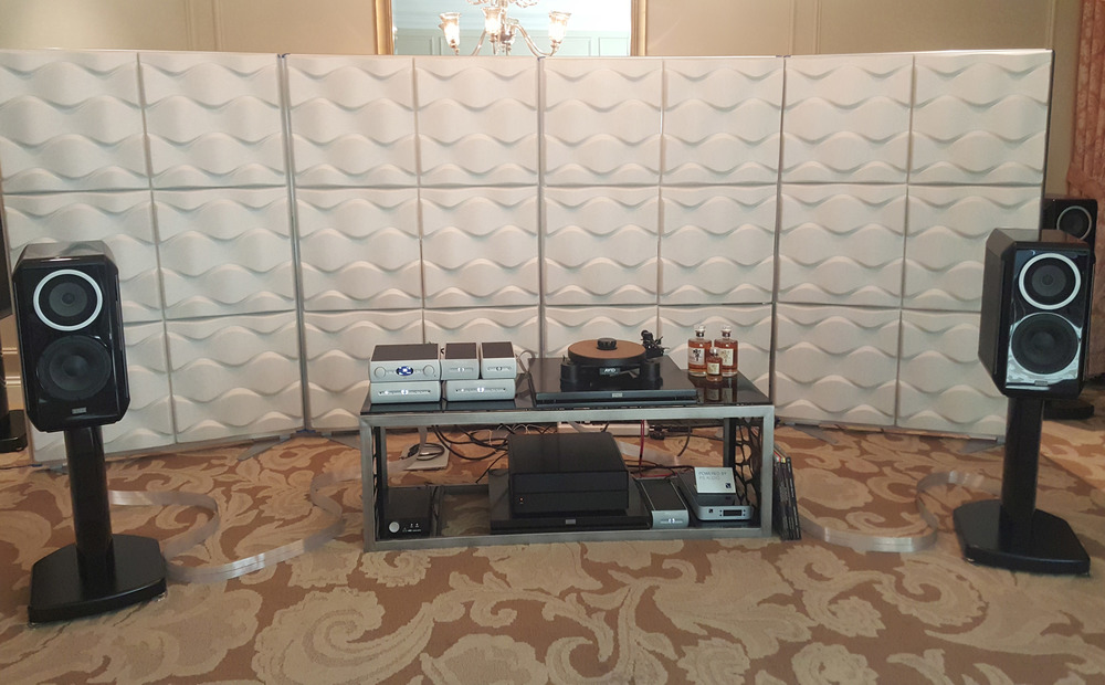 Audio Alchemy with TAD speakers at 2016 CES