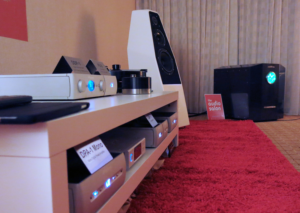 Audio Alchemy with Wilson Audio Sabrina speakers at 2015 RMAF