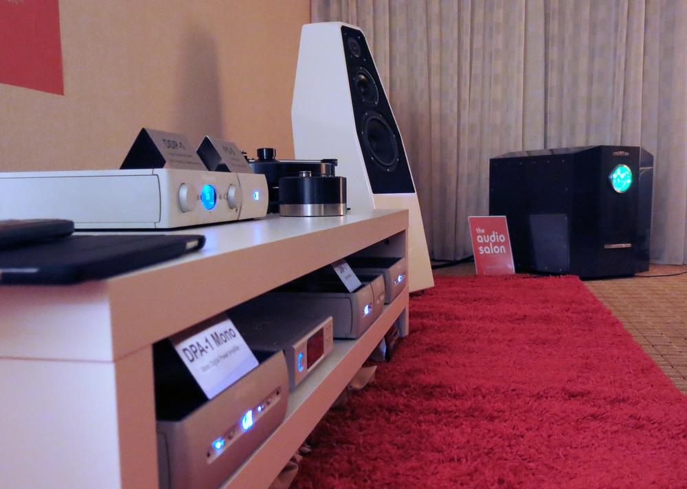 Audio Alchemy with Wilson Audio Sabrina speakers at 2015 RMAF