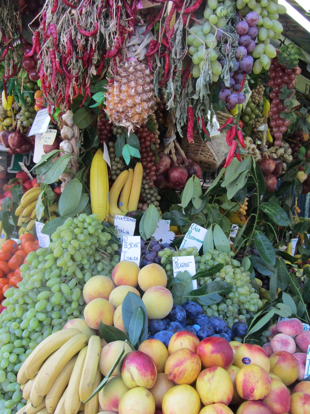 Get a banana into you and make a fresh juice with in season fruit and veg