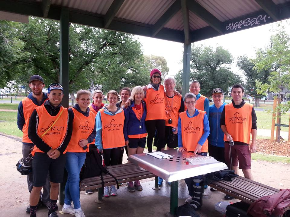 The fabulous volunteers that make parkrun possible