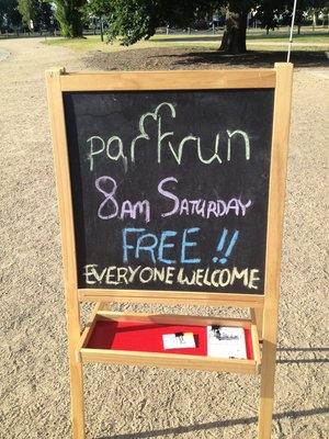 Most parkrun events in Australia start at 8am but do check your local start time as QLD starts at 7am and TAS at 9am