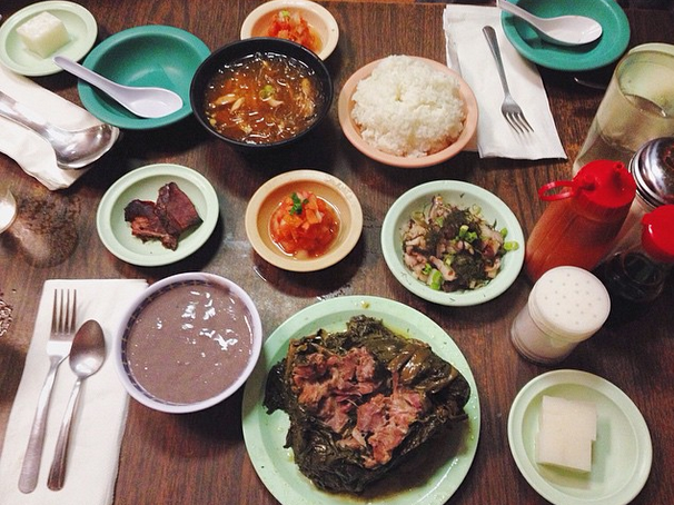 Kalua pork and his friends - A little luau in your mouth                                                                                                     Photo Credit: Catherine B