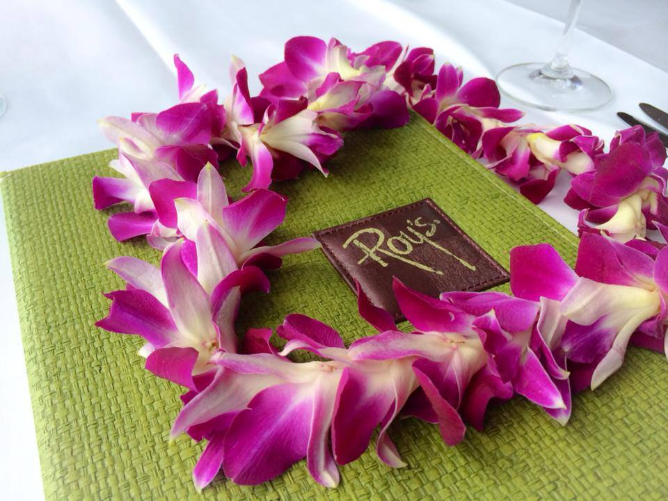 You might just get lei'd after dinner at Roy's                                                                                                                                 Photo credit: Roy's