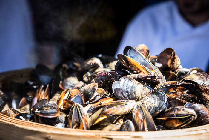 Mussels aplenty at the Port Phillip Mussel Festival                                                                                                 Photo by South Melbourne Market