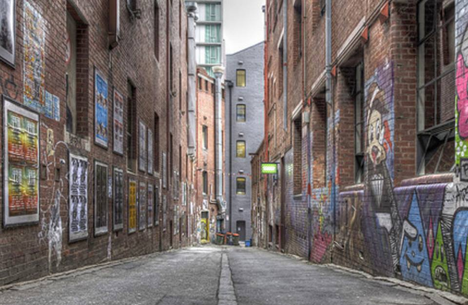 ACDC Lane and Duckboard Place will be closed to traffic for the MARCS Laneway Festival                                                     Photo by MARCS