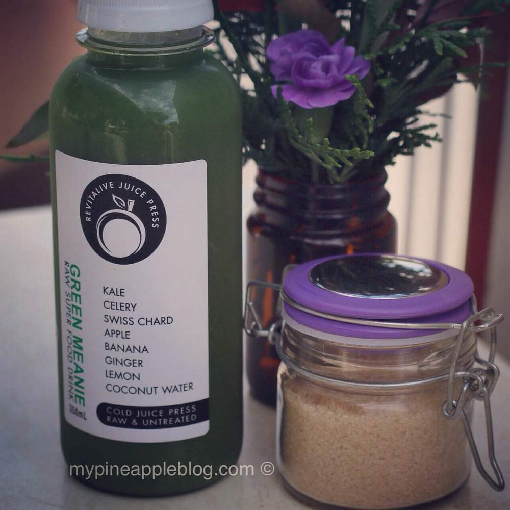 Rehydration - I love green juices and smoothies.  If I'm on the run I enjoy this one from Revitalive.