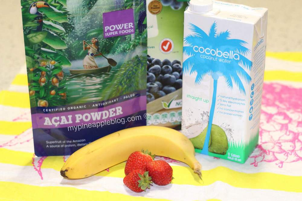 A few ingredients areall you need to make your own acai bowl