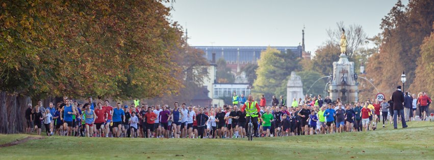 Bushy parkrun  where it all began                                         Photo Credit: Bushy parkrun Facebook