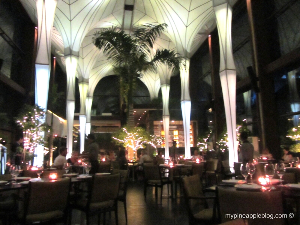 The stunning dining room at Merah Putih