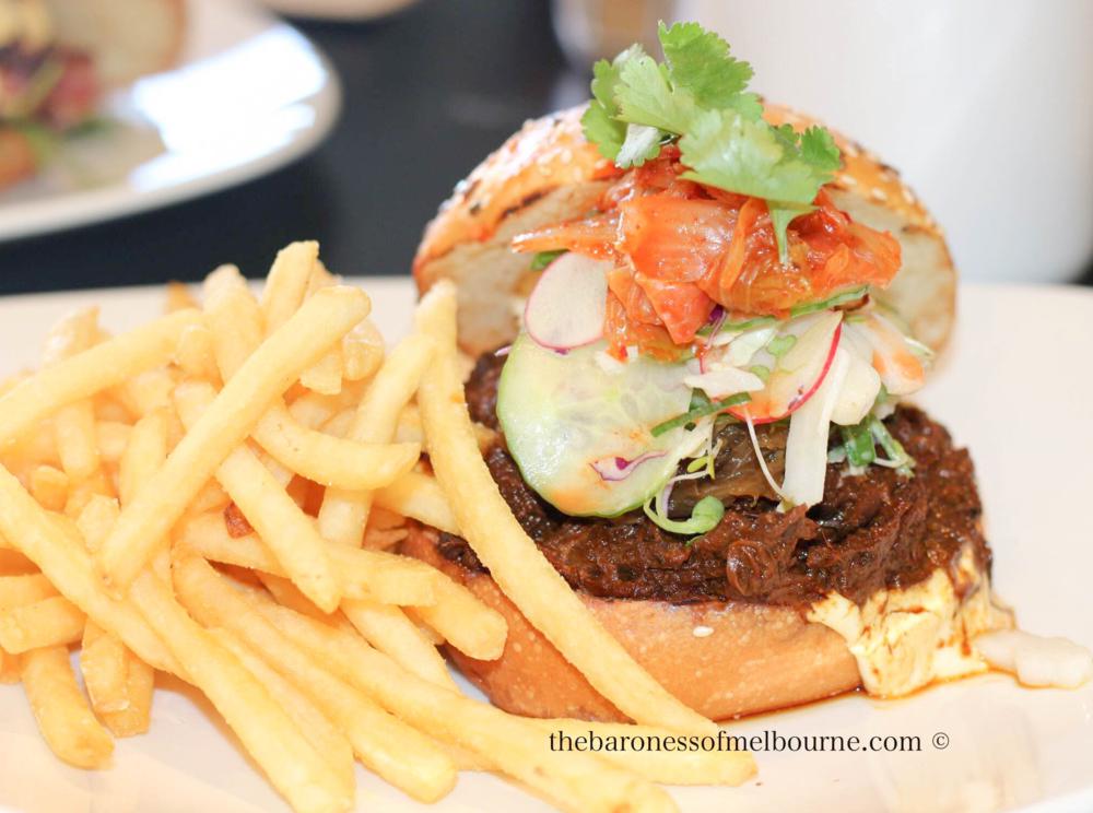 Introducing the bulgogi beef burger